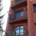 balkon se sušákem 1